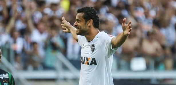 Três gols e uma assistência. Artilheiro Fred foi o grande nome do clássico no Mineirão - @atletico/Twitter
