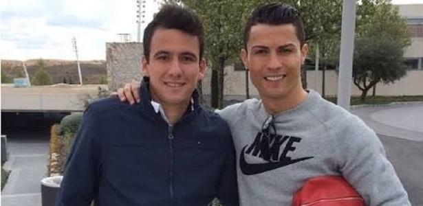 Pablo ao lado de Cristiano Ronaldo: atleticano viveu drama familiar nos últimos meses
