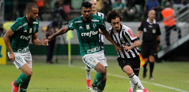 Thiago Santos desfalca o Palmeiras em Campinas, segundo disse Cuca nesta sexta