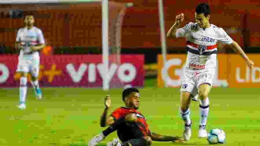 Thomaz quando defendia o São Paulo - Clélio Tomaz/AGIF