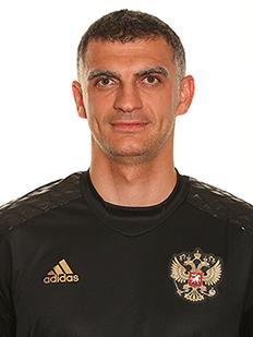 Vladimir Gabulov, goleiro da Rússia