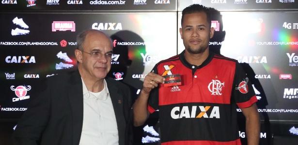 Geuvânio vem treinando bem no Flamengo