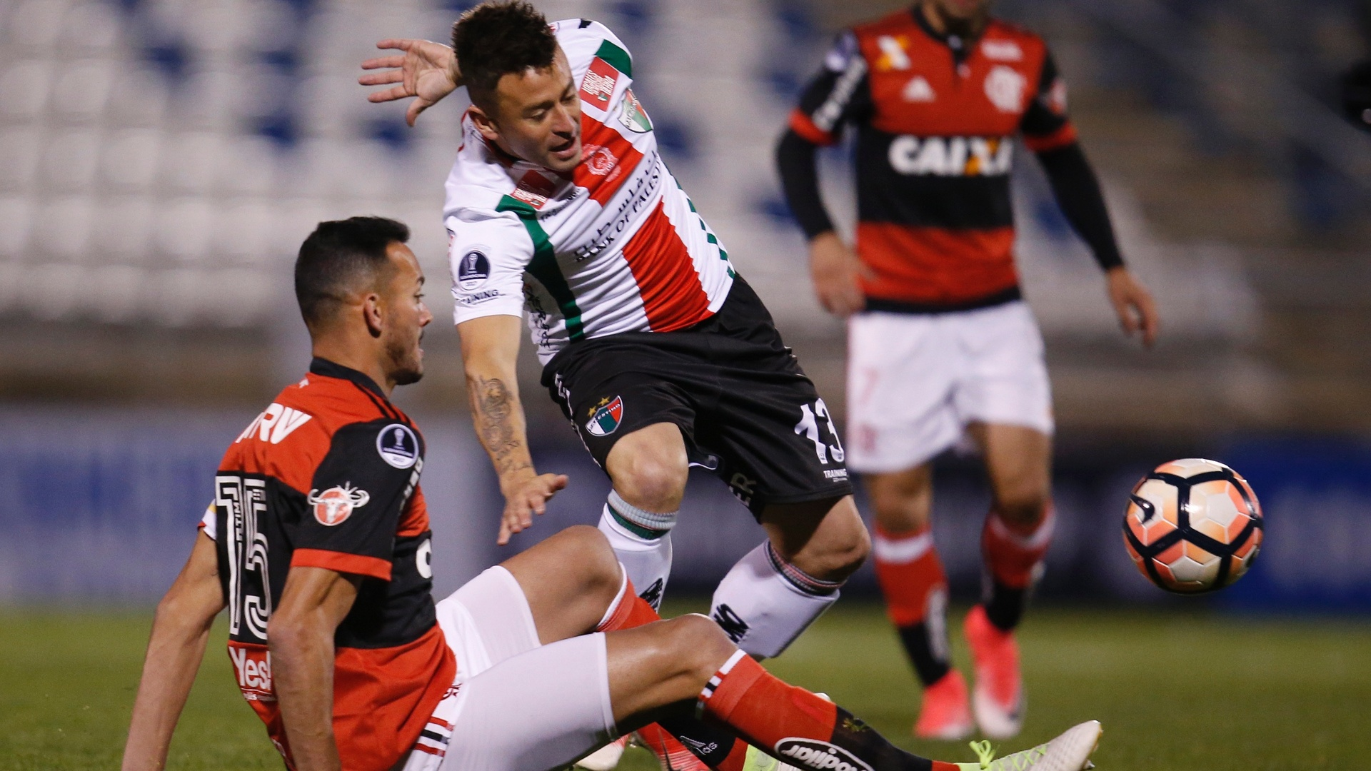 Rever divide com Roberto Gutiérrez em Palestino x Flamengo