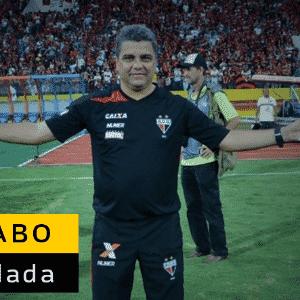 Marcelo Cabo pediu demissão do comando do Atlético-GO após derrota por 3 a 0 para o Bahia na quarta rodada. Doriva foi escolhido para substitui-lo - Arte UOL