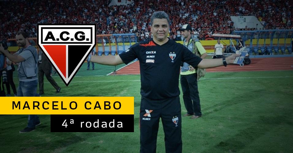 Marcelo Cabo pediu demissão do comando do Atlético-GO após derrota por 3 a 0 para o Bahia na quarta rodada. Doriva foi escolhido para substitui-lo