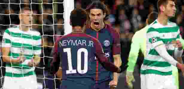 Cavani e Neymar - REUTERS/Charles Platiau - REUTERS/Charles Platiau