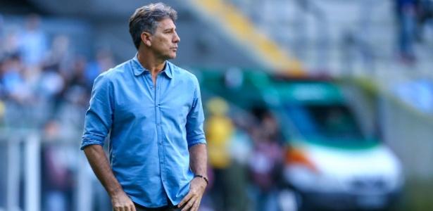 O Grêmio de Renato Gaúcho (foto) vai mudar suas estruturas e busca evolução - LUCAS UEBEL/GREMIO FBPA