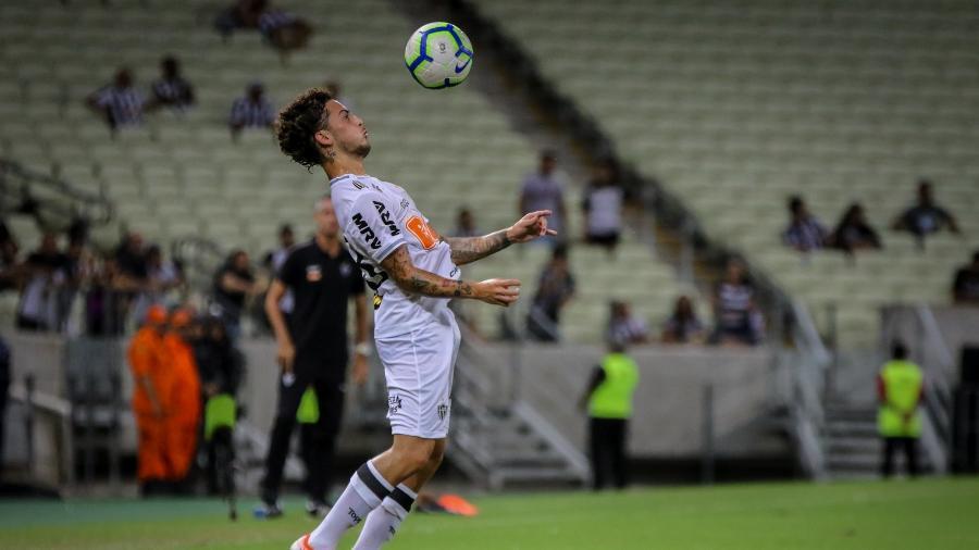 Lateral Guga, em partida do Atlético-MG - Pedro Souza/Atlético-MG