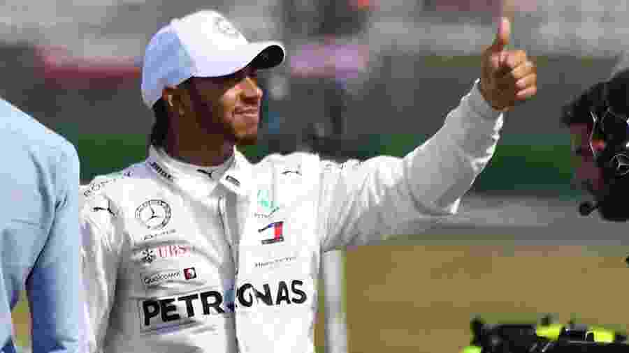 Lewis Hamilton luta pelo hexacampeonato da Fórmula 1 - Christof Stache / AFP