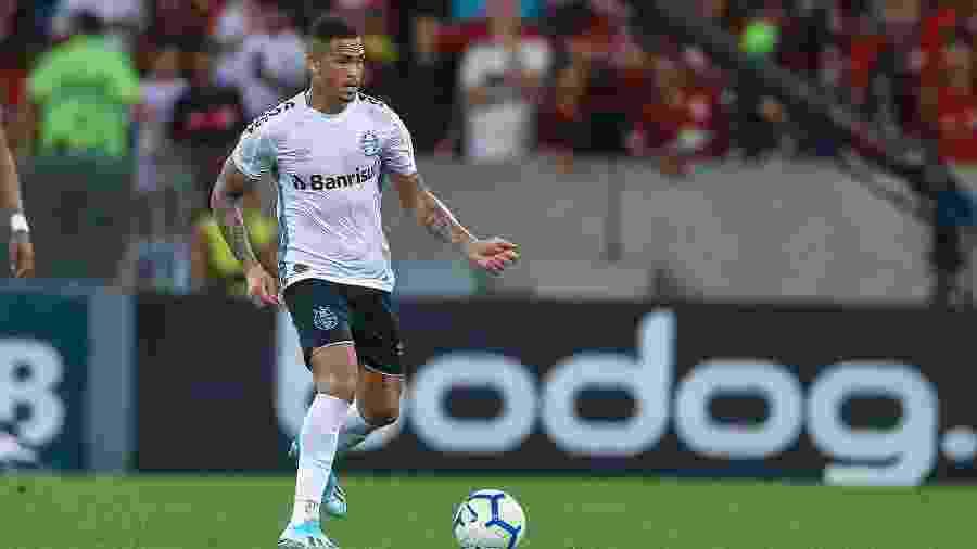 Luciano já disputou duas partidas pelo Grêmio e ainda não marcou gols - Lucas Uebel/Grêmio FBPA