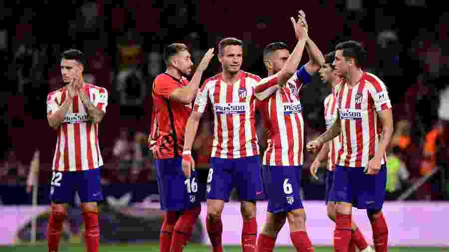 Atlético de Madri vence Getafe pelo Campeonato Espanhol - JAVIER SORIANO / AFP