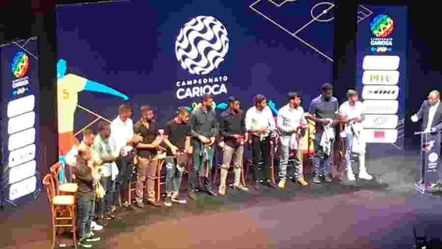Evento na Barra da Tijuca, Zona Oeste do Rio de Janeiro, marcou a abertura do Campeonato Carioca 2020 - Bruno Braz / UOL