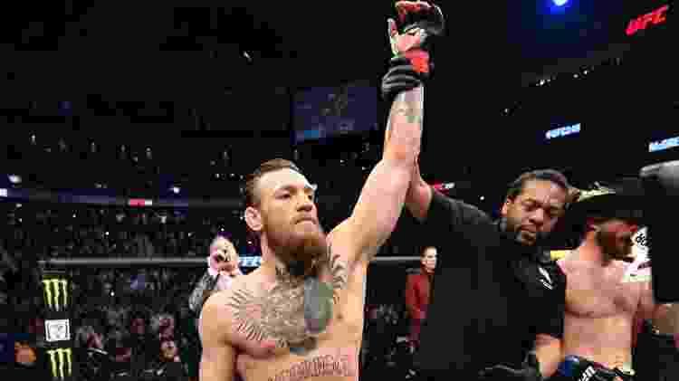 Conor McGregor venceu por nocaute técnico em 40 segundos - Getty Images - Getty Images