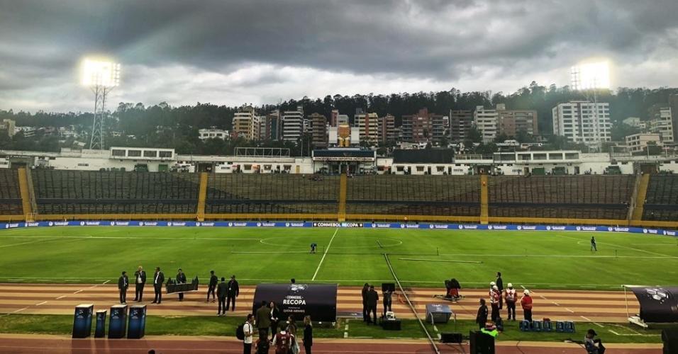 Olímpico Atahualpa recebe final da Recopa Sul-Americana entre Independiente del Valle e Flamengo