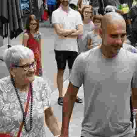 Mãe de Guardiola tinha perfil público mais reservado - Reprodução/Instagram