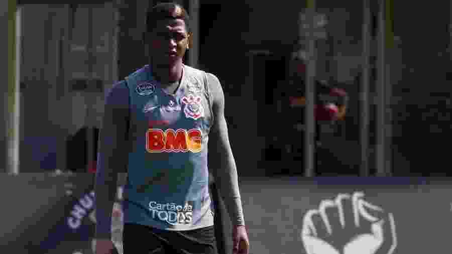 Yony González, jogador do Corinthians, entrou em campo apenas quatro vezes pelo clube paulista - Daniel Augusto Jr/Corinthians
