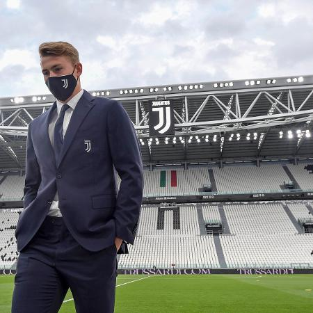 Matthijs de Ligt na retomada do futebol italiano, na partida entre Juventus e Milan - Daniele Badolato - Juventus FC/Juventus FC via Getty Images