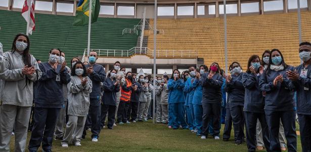 Novo normal no futebol | Corinthians e Palmeiras se destacam no combate à covid-19