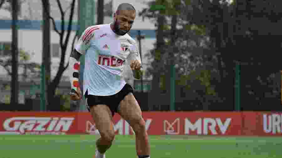 Daniel Alves - Reprodução/SPFC