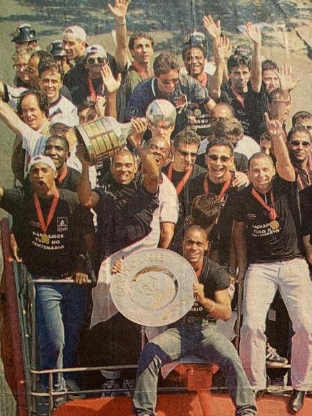 Libertadores foi conquistada pelo Vasco em 1998 - Acervo Pessoal