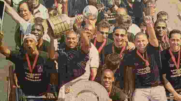 No Vasco, Vagner era o camisa 10 no título da Libertadores de 1998, o maior da história do clube - Acervo Pessoal - Acervo Pessoal