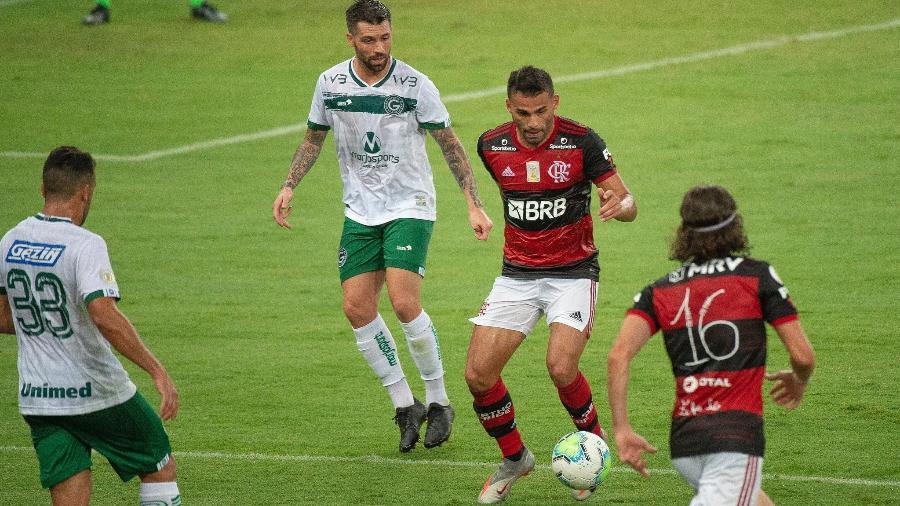 Flamengo e Goiás se enfrentam na Serrinha pelo Campeonato Brasileiro - Alexandre Vidal / Flamengo
