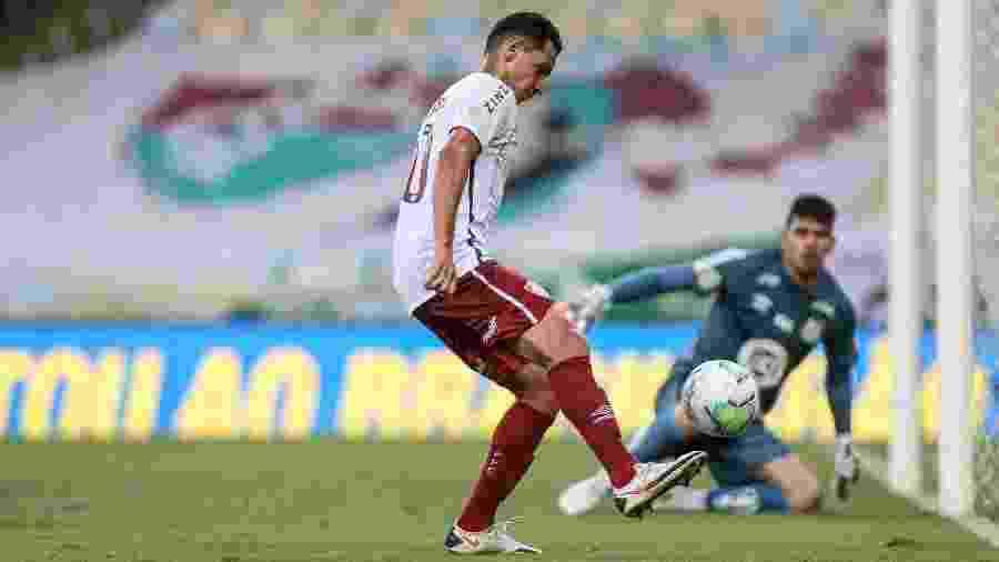 Ganso voltou a jogar bem, apesar das poucas chances, e dá opções ao treinador Odair Hellmann - Lucas Mercon/Fluminense FC