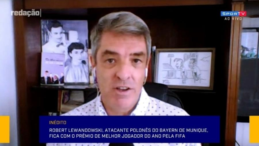 Tim Vickery diz que prêmio de melhor do mundo é problema para Neymar - Reprodução/SporTV