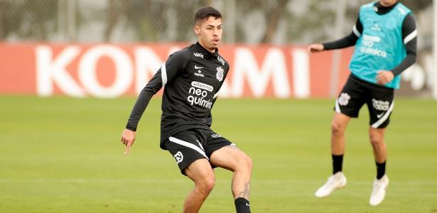 Gabriel Pereira volta aos treinos no Corinthians e vira opção para Sylvinho