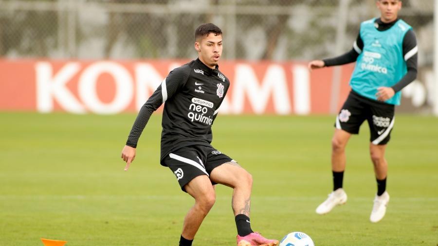 Gabriel Pereira se machucou na véspera do clássico com o Palmeiras  - Rodrigo Coca/ Ag. Corinthians