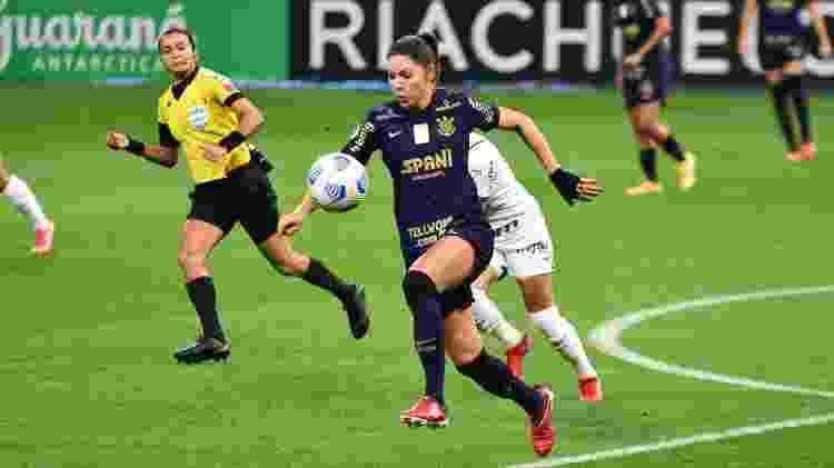Edina Alves na final do Brasileirão feminino - RONALDO BARRETO/THENEWS2/ESTADÃO CONTEÚDO - RONALDO BARRETO/THENEWS2/ESTADÃO CONTEÚDO