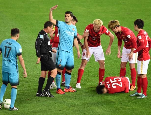 Time chinês representou a Ásia no último Mundial de Clubes da Fifa - Toru Yamanaka/AFP Photo