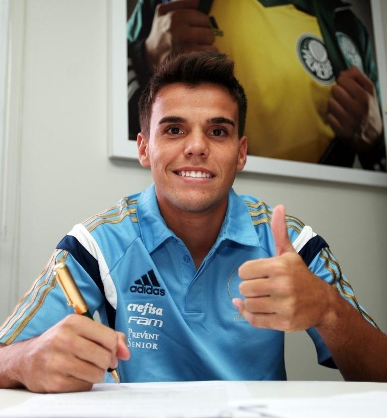 Rodrigo, reforço do Palmeiras para 2016