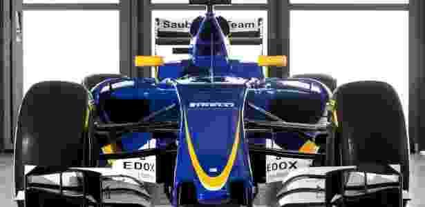 Sauber revela as primeiras imagens do carro de Nasr para a temporada 2016 2 - Divulgação - Divulgação