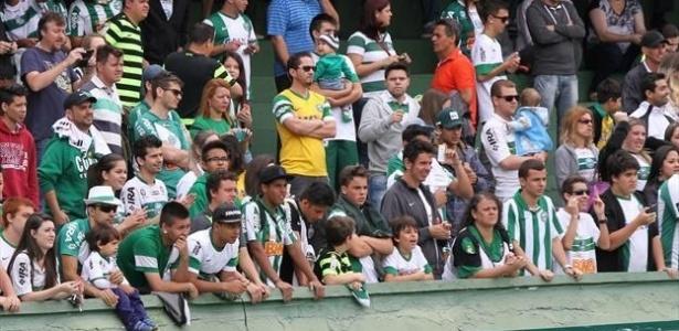 Treino do sábado, no Couto Pereira, será aberto aos torcedores. Entrada é gratuita