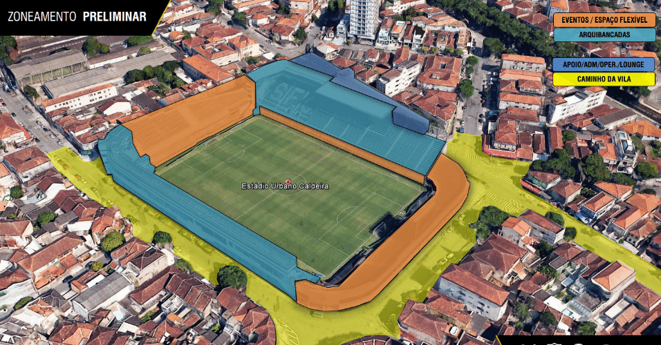 Estádio também terá um museu para exibir as conquistas do clube