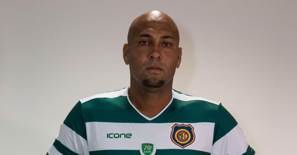"""Souza """"Caveirão"""", atacante ex-Vasco, Flamengo e Corinthians, jogará o Campeonato Carioca pelo Madureira"""