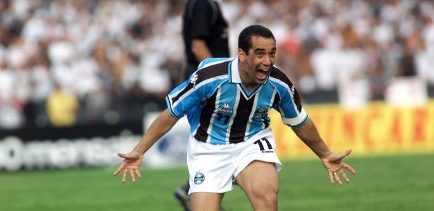 Grêmio de Tite, em 2001 e 2002, venceu os quatro jogos contra o River Plate - Eduardo Knapp/Folhapress