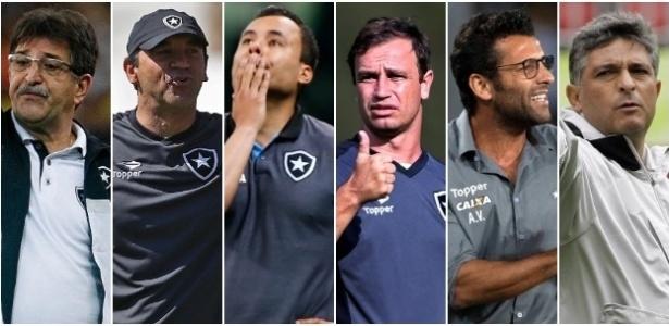 Botafogo só tem contratado técnicos baratos e deixado medalhões de lado