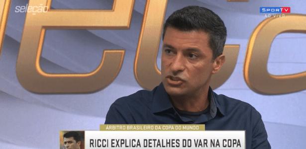 Sandro Meira Ricci em entrevista ao SporTV - Reprodução/SporTV
