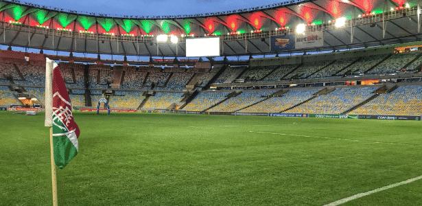 Estádio recebeu pouco mais de 5 mil pessoas na partida contra o Madureira - Divulgação/Fluminense FC