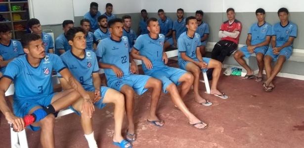Equipe do Trindade-GO, um dos destaques da Copa São Paulo 2019