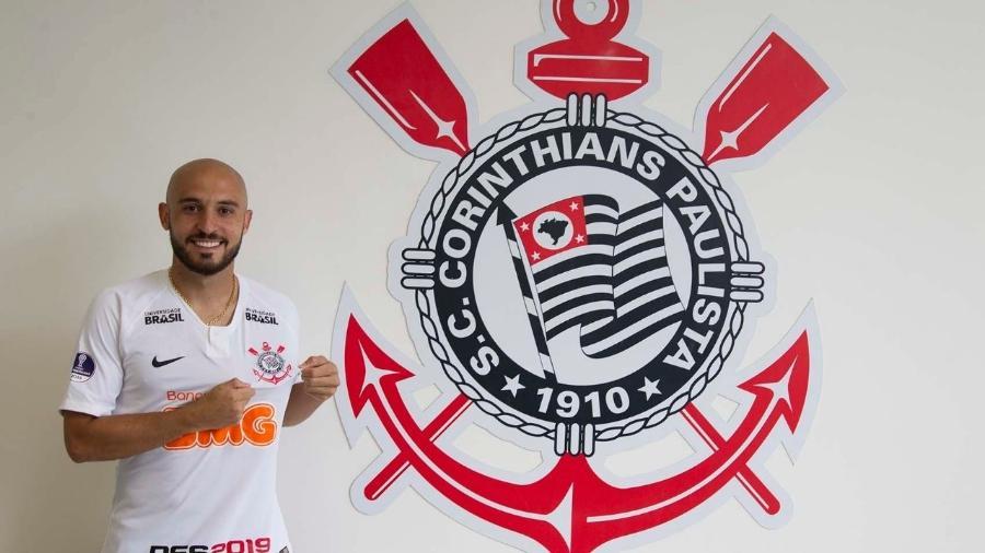 Meia Régis pertence ao Bahia e jogará no Corinthians por empréstimo até o fim desta temporada - Foto: Daniel Augusto Jr. / Agência Corinthians