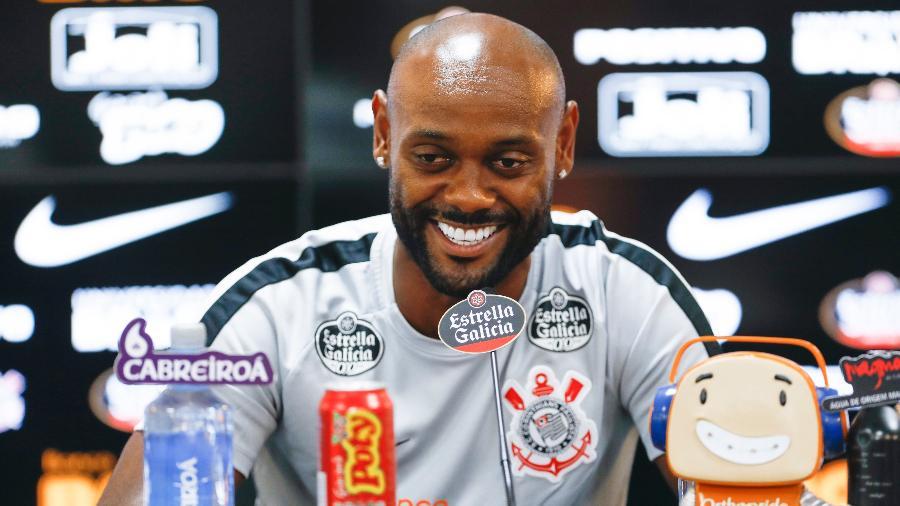 Love voltou ao Corinthians menos goleador, mas mais participativo e voluntarioso - RICARDO MOREIRA/FOTOARENA/ESTADÃO CONTEÚDO