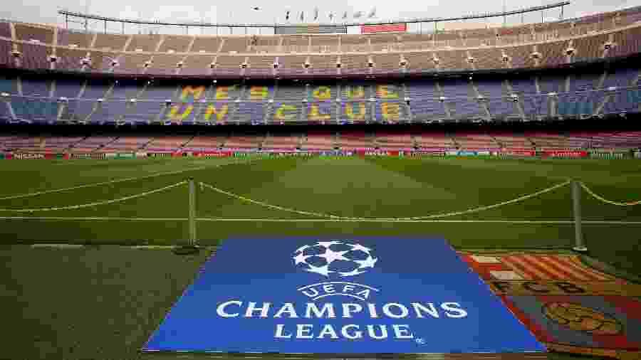 Camp Nou antes de partida do Barcelona pela Liga dos Campeões - Susana Vera/Reuters
