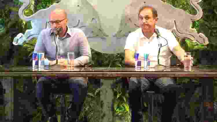 Thiago Scuro e Marquinhos Chedid - Emanuel Colombari/UOL Esporte - Emanuel Colombari/UOL Esporte