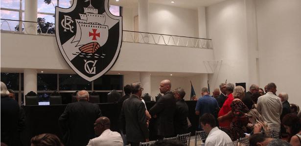 Vasco: Vice considera posse de Conselho Deliberativo como