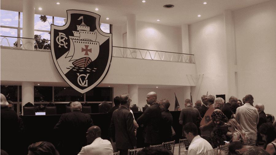 Conselho Deliberativo do Vasco votou por eleições diretas no clube a partir de 2020 - Paulo Fernandes/Vasco.com.br