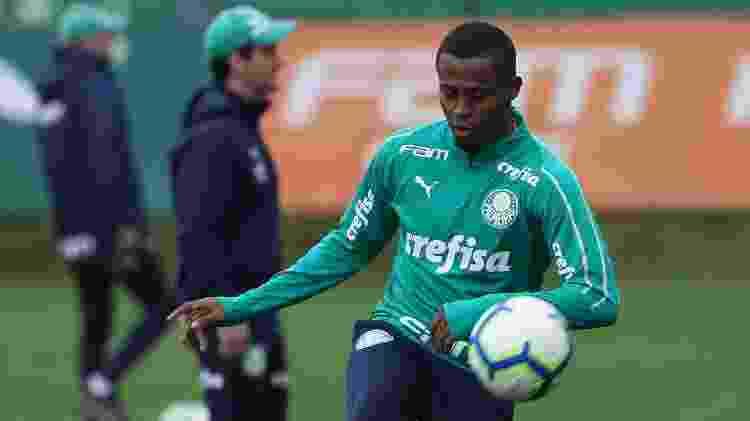 Carlos Eduardo tem 15 jogos oficiais pelo Palmeiras em 2019, seis como titular - Cesar Greco/SE Palmeiras