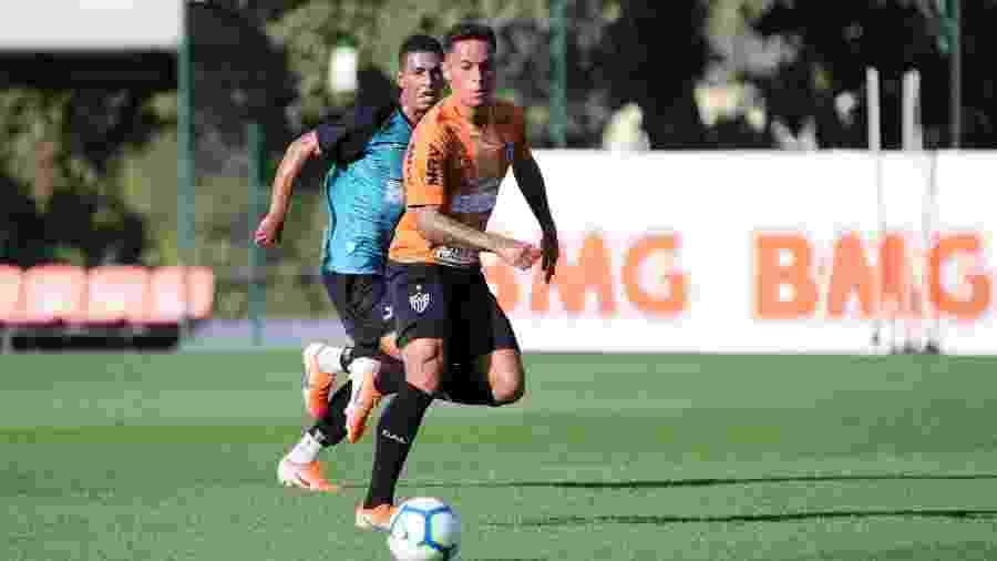 Bruninho, atacante do Atlético-MG, será emprestado ao Sport no mercado da bola - Bruno Cantini/Divulgação/Atlético-MG